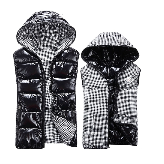 New  Winter sleeveless women's Hooded  vest lady fashion casual waistcoat vest female plus size vest