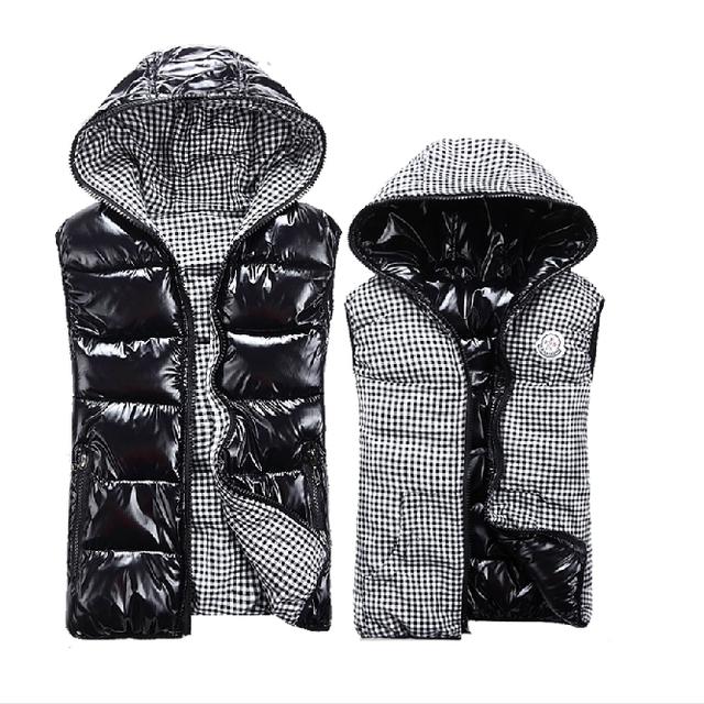Nuevo Invierno sin mangas Con Capucha de las mujeres manera de la señora chaleco ocasional chaleco femenino más tamaño chaleco