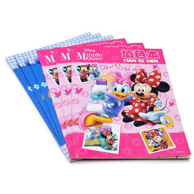 Disney Kawaii Mickey Minnie Image De Livre De Coloriage Enfants