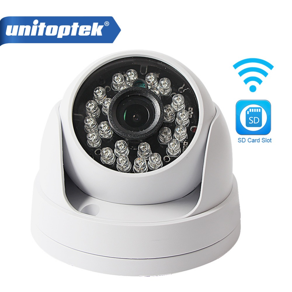 imágenes para 720 P 1080 P Cúpula HD 1MP CMOS de 2MP Cámara IP de Audio WIFI de seguridad CCTV Cámara IR 20 m 3.6mm Lente Opcional Ir-cut para Uso En Interiores Onvif