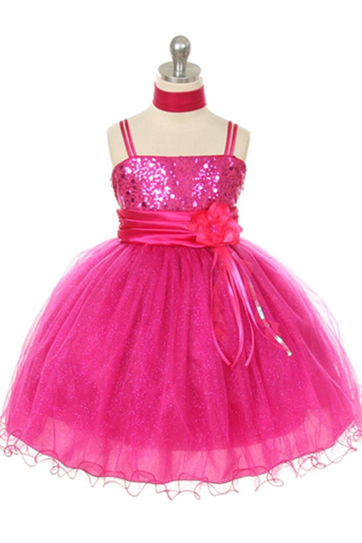 Purplegrey Flower Girls Dress Pageant Dress 2017 Spaghetti Straps