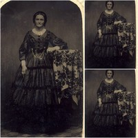 SC 367 Victorian Gothic/Vintage Dress Halloween Theater Movie loose dresses dress Custom made