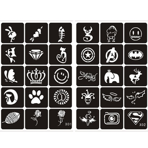 Image 2 - 133 шт., трафареты для рисования татуировок
