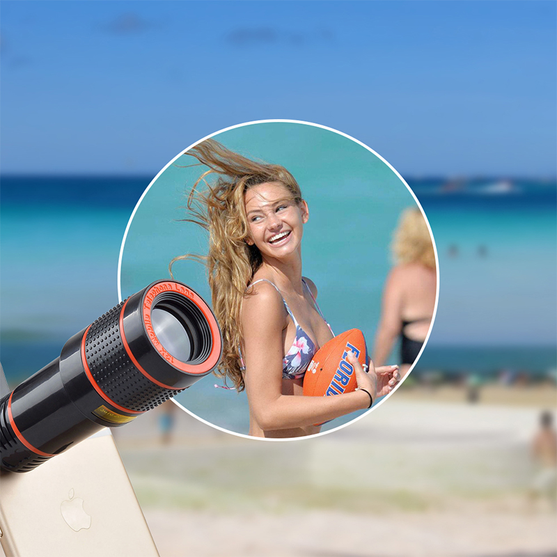 17 12X Zoom Phone lens Universal Telephoto Camera Lens with tripod holder for iPhone Samsung Xiaomi HTC HUAWEI lens APL-HS12X 4