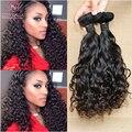 6A pelo virginal brasileño caramelo curl pelo de la virgen 3 unids/lote armadura Brasileña del pelo lía extensiones de cabello funmi ZCC63