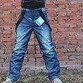 Clásico Denim Tirantes Espesan los Pantalones de Snowboard Adulto Impermeable A Prueba de Viento Pantalones Deportivos Transpirable Pantalones de Esquí de Ropa Deportiva