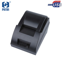 Small 58mm ticket printer machine usb thermal receipt language pos printer support windows, linux for bill printing impressora