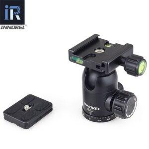 Image 5 - Trépied pour appareil photo B32/B36/B44, rotule pour photographie panoramique, haute qualité, 50mm/60mm, plaque à dégagement rapide, arca swiss