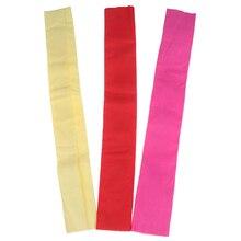 Crinkled креп бумажное ремесло, ручная работа цветок сделать упаковку сложить Скрапбукинг школьные офисные принадлежности