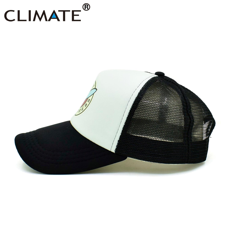 CLIMATE Kişilər Qadın Trucker Planet Express Cool Yaz Mesh Caps - Geyim aksesuarları - Fotoqrafiya 5