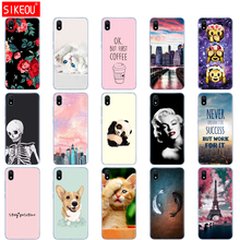 silicon case for xiaomi redmi 7a cases full protection soft