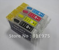 Free Shipping 135 T1351 +T1332 T1333 T1334  refillable ink cartridge for epson  Stylus T25 TX123 TX125 TX133 TX135 printer