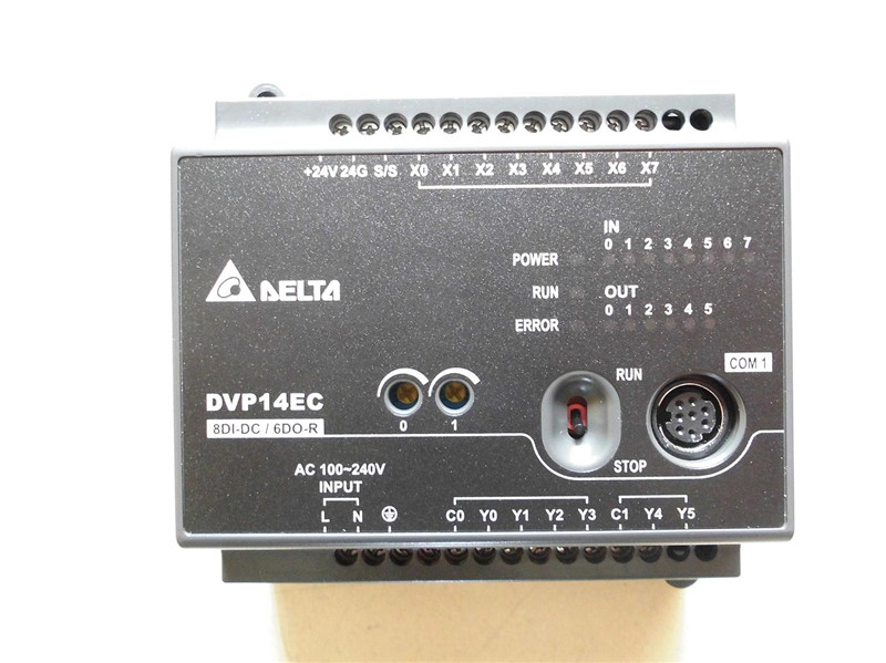 DVP14EC00R3 Delta EC3 Series Standard PLC DI 8 DO 6 Relay 100-240VAC new in box orient u3l 1000 usb 3 0 gigabit ethernet adapter rtl8153 chipset 10 100 1000 мбит с поддержка win10 linux mac os
