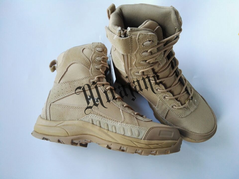 Tactical Boots Genuine Leather Military Boots Dese...