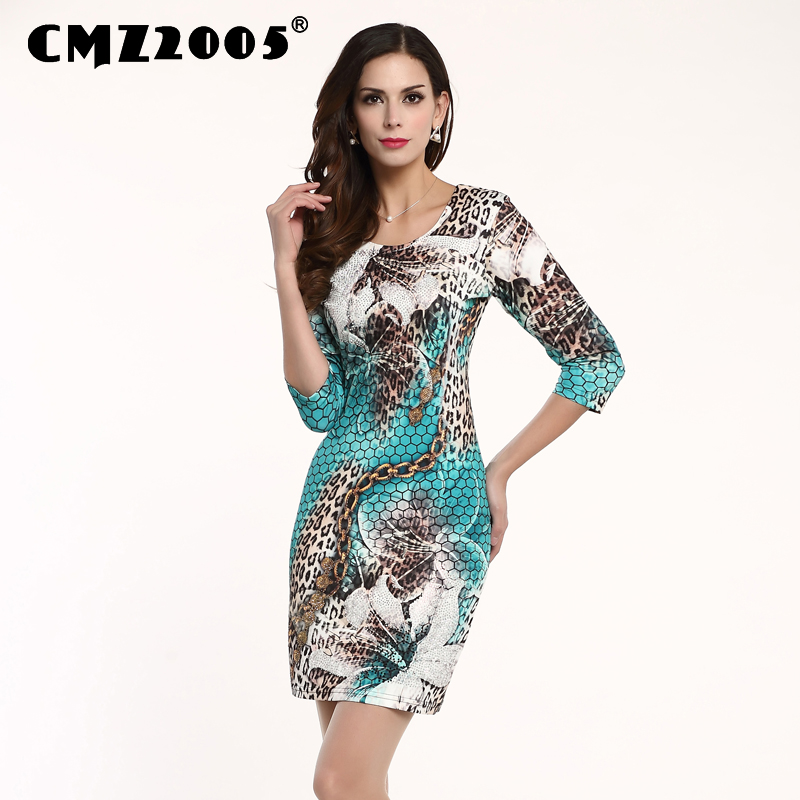 Hot Sale Women's Apparel High-Quality Printing Half Sleeves Round Neck Sexy Mini Fashion Autumn Dress Personality Dresses 91606