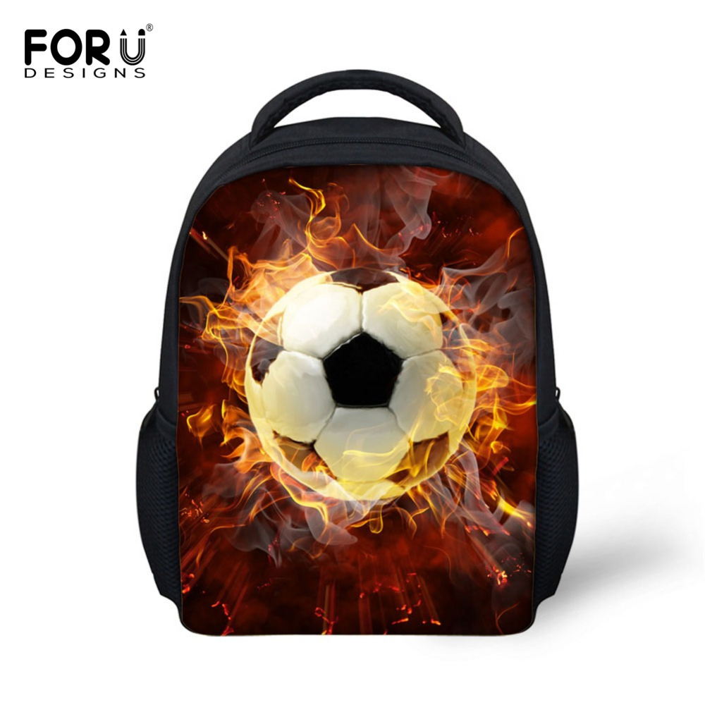 FORUDESIGNS 3D Ball Printing School Bags for Kindergarten Toddler Baby Boys Schoolbag Preschool Students Bagpack Kids Mochila