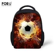 FORUDESIGNS 3D Ball Printing School Bags for Kindergarten To
