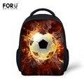 Forudesigns 3d bola de impresión mochilas escolares para niños del bebé del niño de kindergarten schoolbag estudiantes preescolares mochila niños mochila