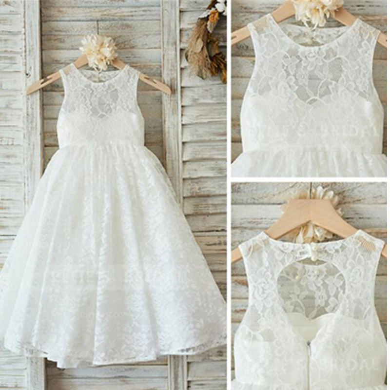 [Bosudhsou] als-1 Infant Kids Costume Birthday Party Full Dress Sleeveless Lace Girls Princess Wedding Tutu Backless Dress [Bosudhsou] als-1 Infant Kids Costume Birthday Party Full Dress Sleeveless Lace Girls Princess Wedding Tutu Backless Dress