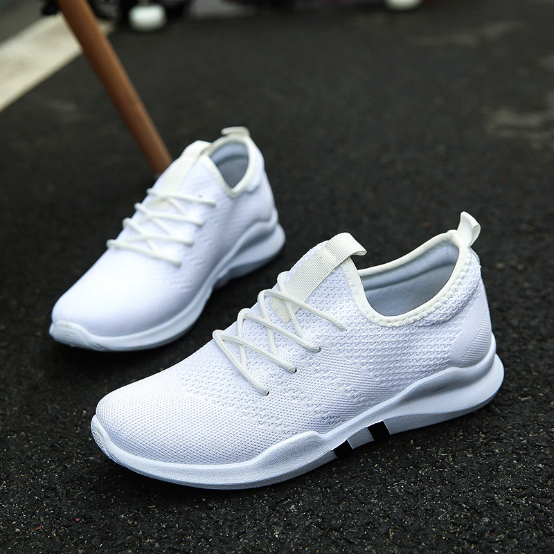 Fires Men Casual Shoes Fashion Lightweight Lace-Up Man Sneakers Spring Breathable Male Footwear Lace-up Outdoor Shoes Zapatillas fashion men s lace up straight legs cropped jeans