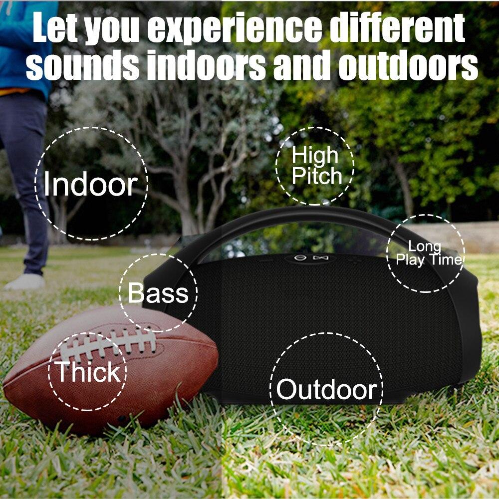 Caixa de som subwoofer Speaker coluna altifalante portátil Sem Fio Via Bluetooth® Barra de Som melhor do que jbll para o telefone