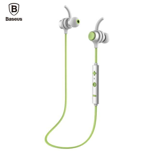 De baseus b16 auriculares bluetooth 4.1 estéreo casque auricular inalámbrico de auriculares con micrófono para iphone xiaomi teléfono android