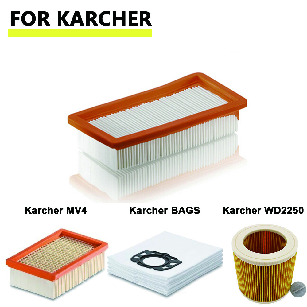 Washable Karcher Filter for DS5500,DS6000,DS5600,DS5800 robot vacuum cleaner Parts Karcher 6.414-631.0 hepa filters цена и фото
