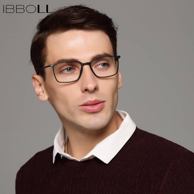 placeholder Ibboll Mens Armações de Óculos Ópticos Óculos de Armação de  Quadros Envoltório Quadrado Do Vintage Da 053a9948a8