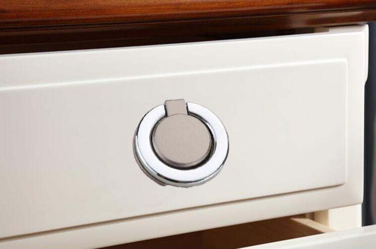 HTB1N0XsLMHqK1RjSZFgq6y7JXXaK - New solid Concealed drawer knob ring round handles Wardrobe Cupboard Door handles for interior doors Pulls Furniture Hardware