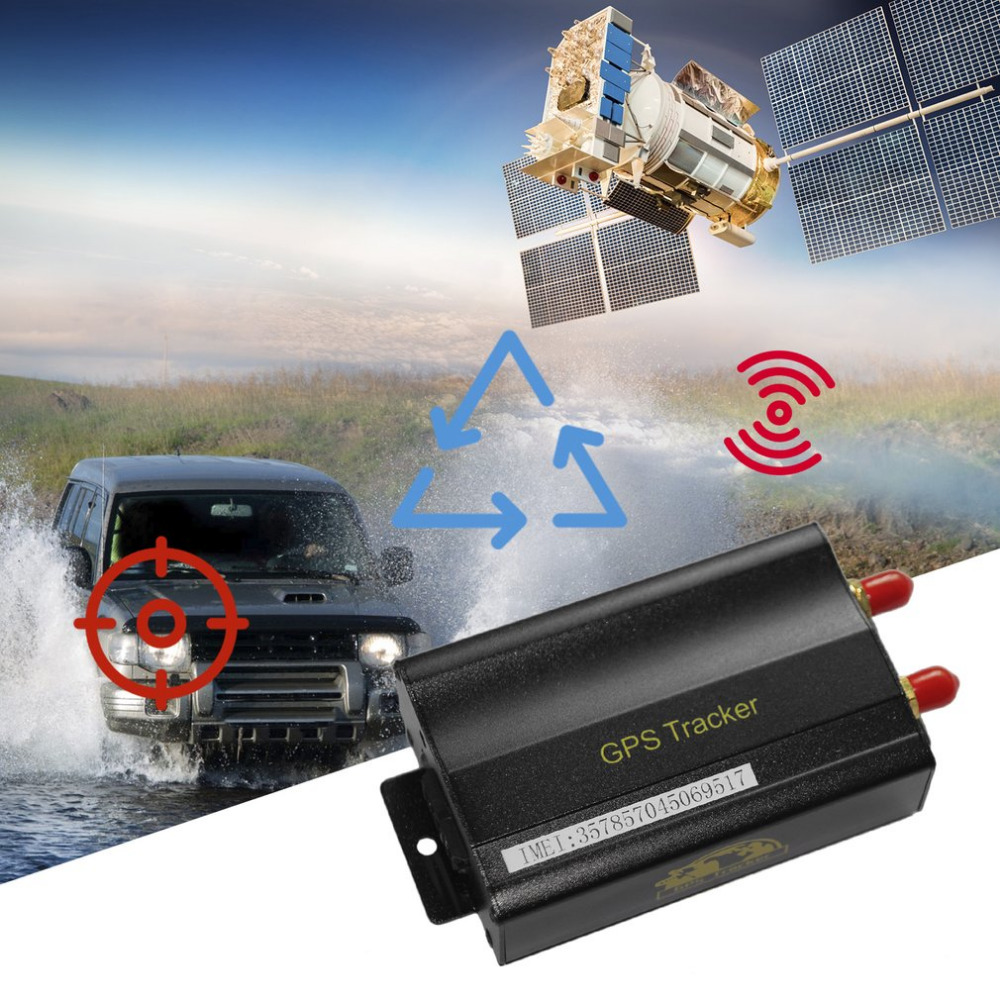 Traqueur professionnel de GPS de GSM pour le dispositif intégré de suivi de véhicule de batterie de moto de voiture avec le système de suivi en ligne