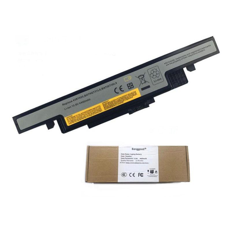 4400 mAh L11L6R02 L11S6R01 L12L6E01 L12S6A01 L12S6E01 Bateria Do Portátil para Lenovo IdeaPad Y490 Y490P Y400 Y410P Y400N Y500 Y500N