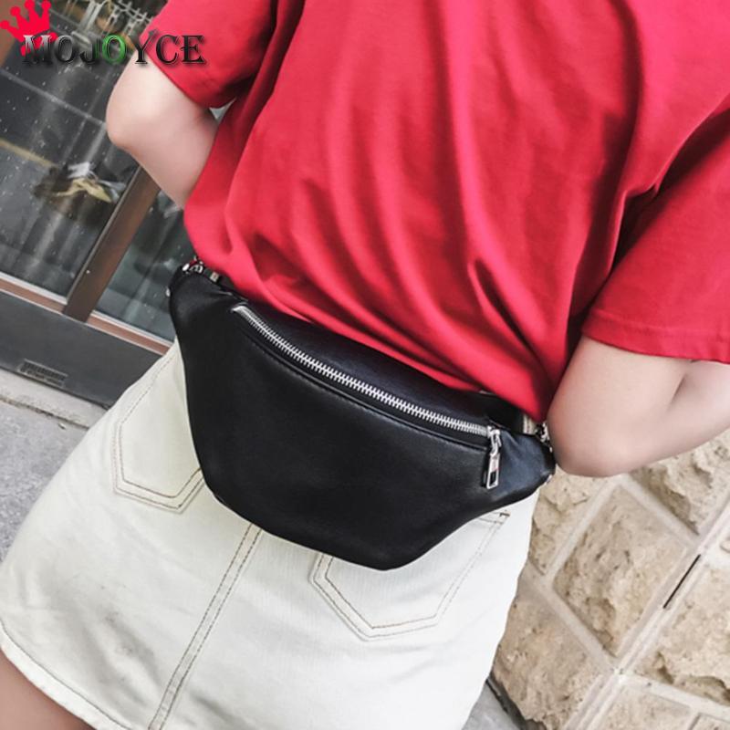 2019 couro do plutônio fanny pacote da cintura das mulheres ombro peito cinto de barriga bolsas femininas crossbody bolsa fanny pacote saco saco de bum sac banane