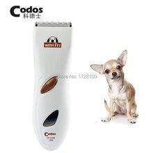 Профессиональный USB зарядки Codos CP3180 Pet триммер собака электробритвы Уход за лошадьми стрижка машина Перезаряжаемые Тедди машинка для стрижки волос