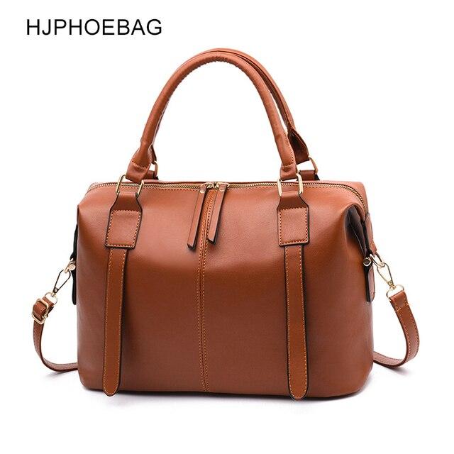 HJPHOEBAG Retrò borse delle nuove donne borse di marca di alta qualità delle signore di grande capacità singolo sacchetto di spalla per il tempo libero sac a main YC201