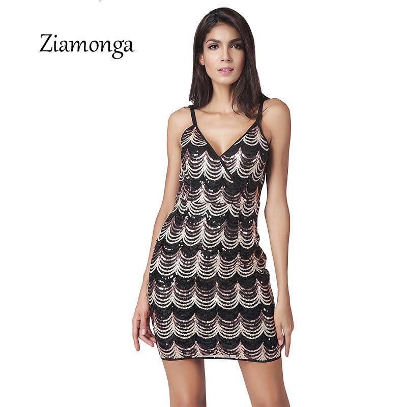 Ziamonga Shining Women 1920s Flapper Dress Vintage Gatsby Charleston