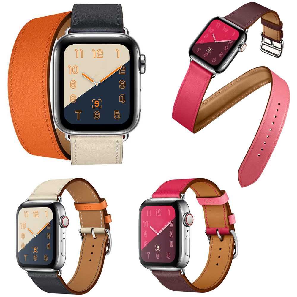 2018 New Single Tour Band for Apple Watch Series 4 3/2/1 Genuine Leather Strap Double Tour Bracelet for iWatch 44/40mm 42/38mm2018 New Single Tour Band for Apple Watch Series 4 3/2/1 Genuine Leather Strap Double Tour Bracelet for iWatch 44/40mm 42/38mm