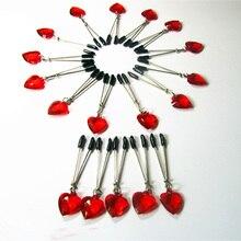 Флирт Toys в форме сердца бимодальная секс-игрушки сосок зажим половые губы Связывание клип удерживающих секс-игрушки для взрослых женщин секс игры