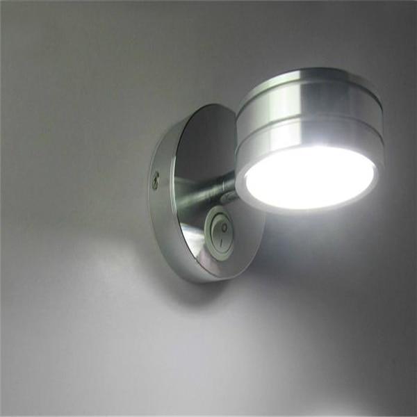 nieuwe schakelaar wandlamp slaapkamer lamp 5w 220v badkamer spiegel ...