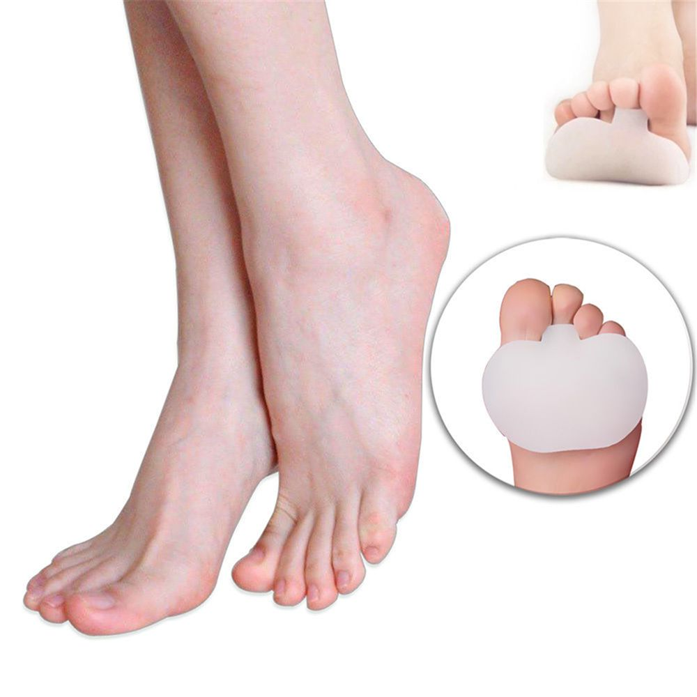 Soft Silicone Gel Toe Pads High heel metatarsal foot Pad Forefoot Pad Feet Pain Shoes Insoles Hot Sale