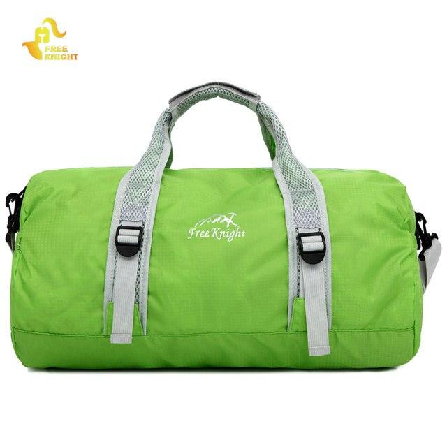 Free Knight FK0726 Folding Gym Fitness Bag Waterproof Yoga Sport Training  Duffel Bag Luggage Hiking Travel Shoulder Handbag ddaa621fd8696