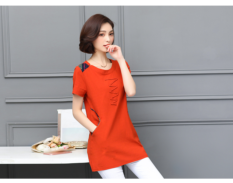 Nkandby Plus size Ladies Tops Summer Korean Women Clothing Slim Cotton Short sleeve 5XL 4XL Big size T shirt Regular Tees Female 33