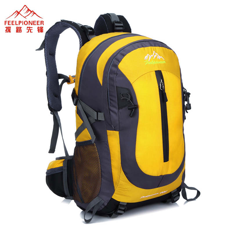 FEEL PIONEER 40L Waterproof Nylon Women&Men Travel Backpack Hike Camp Climb Mochilas Brand Bagpack Laptop Back Bag 2016 large 75l feel pioneer professional waterproof cr travel backpack camp hike mochilas climb bagpack laptop bag pack for men women
