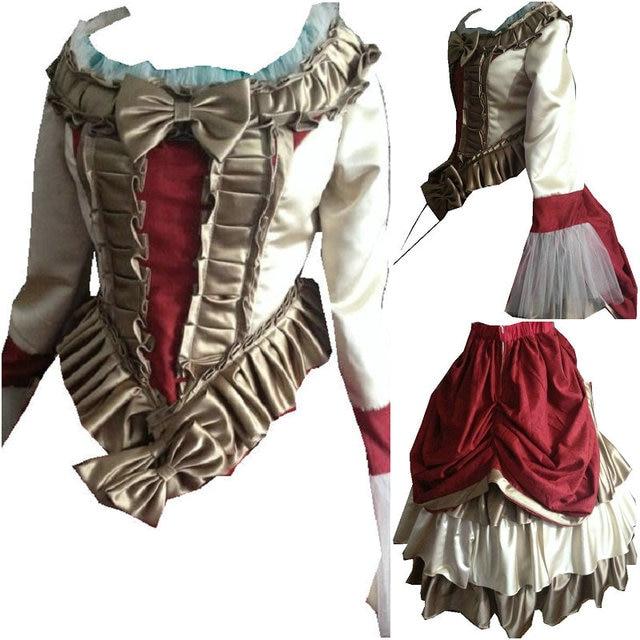 En vente D-116 victorien gothique/guerre civile sud Belle robe de bal robe Halloween théâtre édouardienne robes Sz US 6-26 XS-6XL