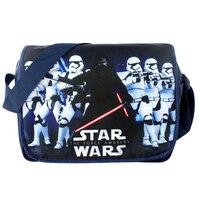 American Movie Star Wars: The Force Desperta Aslant/Crossbody/Messenger/saco de Escola/Saco de Ombro/Bolsa para Os Fãs de Animação