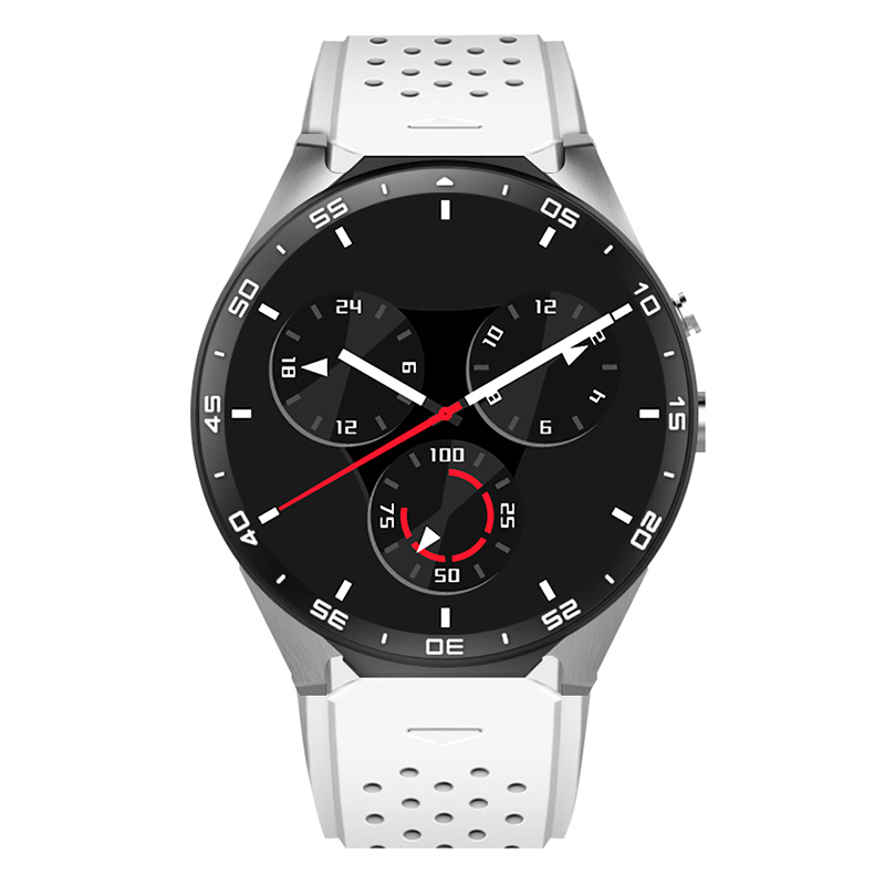 KW88 3G Smart Watch Android 5 1 OS Quad Core Support 2 0MP Camera Bluetooth