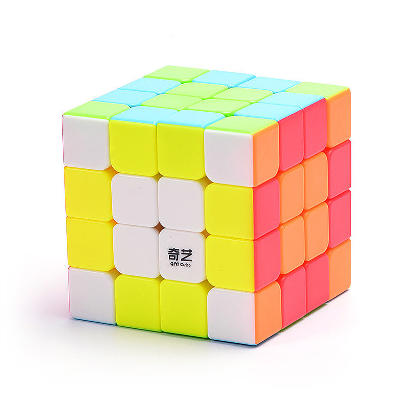 QIYI Cube 4 By 4 Magic Cube Size62*62*62mm 6 Colors Puzzle Speed Cube For Children Gift Toy 4x4 Cubo Magico 4X4 Revenge Cube