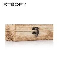Handmade Vintage Men Women Bamboo Wooden Sunglasses Box Frame Glasses Case box