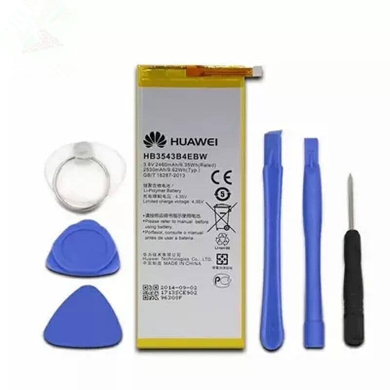 Phone Built in Batterys 2460mAh Replacement Battery HB3543B4EBW for Huawei Ascend P7 P7-L07 L09 L00 L10 L05 L11 +free ToolsPhone Built in Batterys 2460mAh Replacement Battery HB3543B4EBW for Huawei Ascend P7 P7-L07 L09 L00 L10 L05 L11 +free Tools