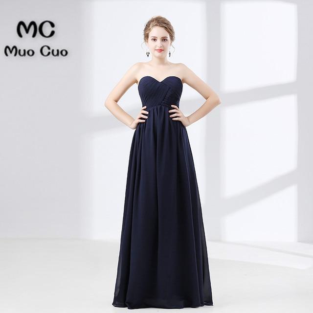 2018 Strapless Bridesmaid Dress Maid of Honer wedding Guest ...
