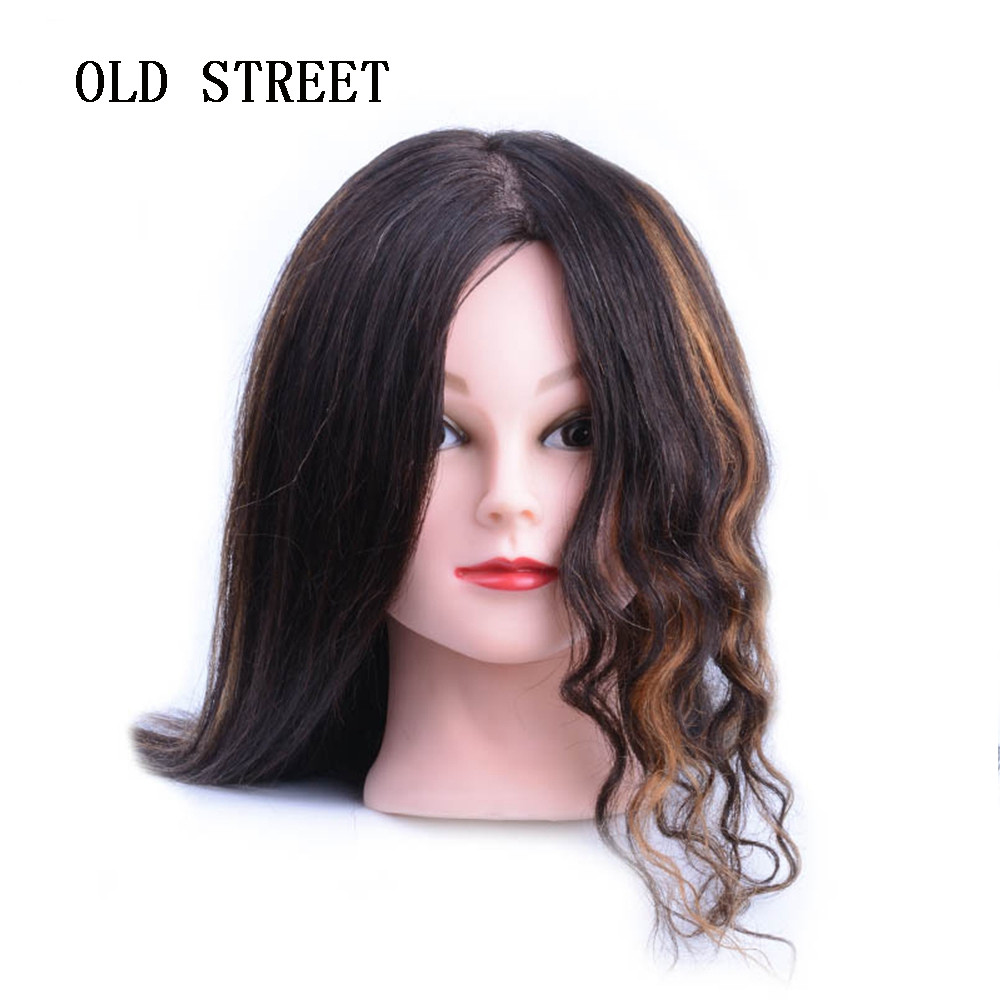 New Training Head With 100% Human Hair Mannequins Dolls Professional Styling Head Nice Mannequin Head For SaleNew Training Head With 100% Human Hair Mannequins Dolls Professional Styling Head Nice Mannequin Head For Sale